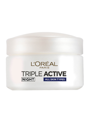קרם פנים לילה Loreal Triple active